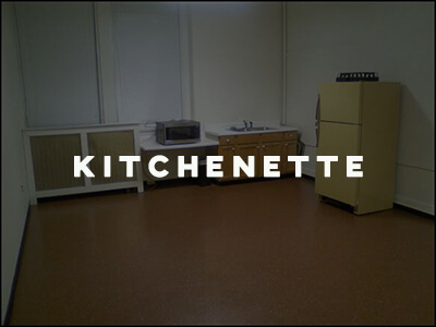 Kitchenette option oella community center